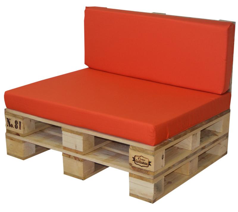Set sof palet y coj n 100x80cm ref s9p80100 for Sofas con palets para jardin